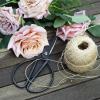 Vintage Virág és Fűszernövény Olló