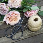 Vintage Virág és Fűszernövény (OKUBO) Olló