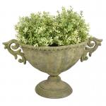 Antikolt virágtartó edény - Kicsi, Ovális