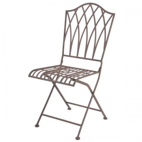 Kék mintás szék