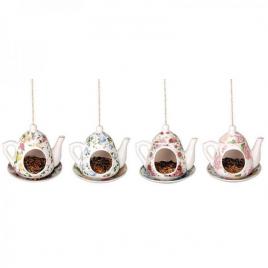 Madáretető - Felakasztható teáskanna