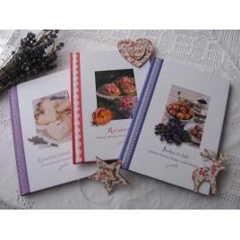 Halmos Mónika: Virág szakácskönyvek + Ajándék fűszersó