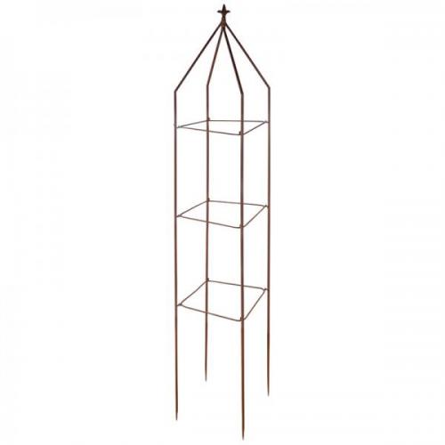 Növényfuttató Obeliszk - Szögletes
