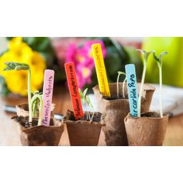 Színes Növényjelölő Táblák